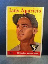 LUIS APARICIO 1958 TOPPS BASEBALL #85 NEAR MINT TO MINT