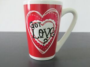 Got Love? Hearts Red 12 Ounce Oz. Mug Cup Gift