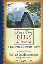 SPRINGFIELD MO 2008 KING'S WAY UNITED METHODIST CHURCH COOK BOOK * MISSOURI RARE