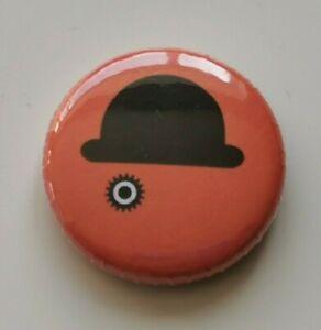 25mm Pin Badge - A CLOCKWORK ORANGE 'ALEX' 2 Droogs Tribute Cult Movie Classic