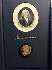 2007-S US Mint Presidential $1 Coin Historical Signature Set Madison