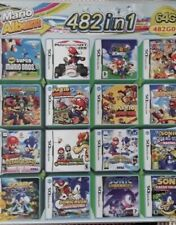Nintendo DS3 482 In 1 Video Game Card Cartridges Console Game Play