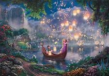 "TENYO Jigsaw Puzzles 1000 Pieces Disney ""Rapunzel""  Thomas Kinkade*"