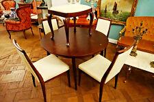Mid century danish Teak Esstisch Esszimmer Tisch table Stuhl massiv scandinavian