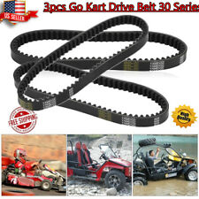 3pcs Go Kart Drive Belt 30 Series Replaces For Manco 5959 For Comet 203589 New B