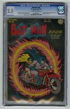 Batman #25 CGC 2.5 DC Comic 1st Joker and Penguin Team-Up (Golden Age)