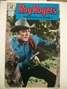 AC Comics ROY ROGERS WESTERN CLASSICS #1 (1989) Photo Cover