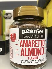 Beanies Flavour Coffee Amaretto Almond Flavour Instant Coffee 50 G, Sugar Free