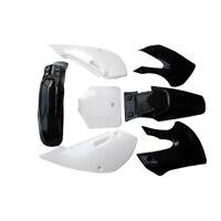 Black KLX 110 PLASTICS FOR ATOMIK THUMPSTAR PITPRO PIT 125/140/200cc BIKE