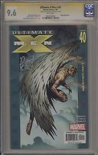 ULTIMATE X-MEN #40 - SIGNED BY BRIAN MICHAEL BENDIS - CGC 9.6 - 0605350046
