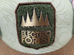 Electric Forest 2017 Festival FITTED GRASSROOTS CA Trucker Embroidered Hat Adult