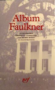 Faulkner Album Pléiade - état neuf - avec son étui et son rhodoïd