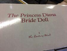 danbury mint princess diana bride doll