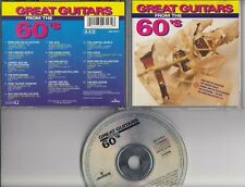 GREAT GUITARS FROM THE 60'S DUTCH CD JETS JUMPING JEWELS RENE AND HIS ALLIGATORS