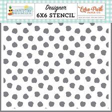 Echo Park Paper SUMMERTIME 6x6 Stencil - Sunkissed Spots (SUM209033)
