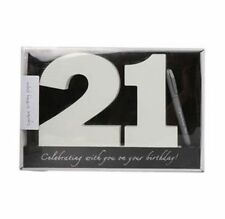 Wooden Birthday Signature Plaque ~ Happy 21St Birthday Gift