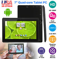 2019 New Android 7 9Tablets PC Quad Core HD 8GB Dual...
