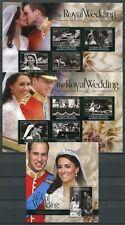 St Vincent Union 2011 Kgl. Hochzeit Royal Wedding Prinz William Kate Royalty MNH