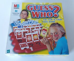 MB Guess Who? Spare Cards, Replacement, 2001 Edition, Red, Blue, Yellow