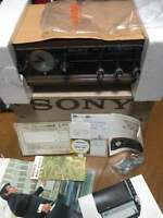 SONY 8RC  49 AM Radio Analog Wooden watch with 1967 Deadstock from JAPAN F/S