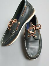 Timberland Mens Leather Boat Deck Shoes Derby Moc Toe UK 8 / 42 EU