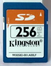 Kingston 256MB SD memory card.