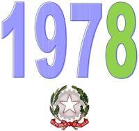 ITALIA Repubblica 1978 Singolo Annata Completa integri MNH ** Tutte le emissioni