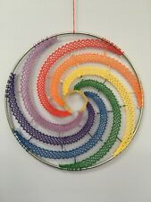 Rainbow In A Ring Torchon Bobbin Lace Pattern Lacemaking *Pattern Only*