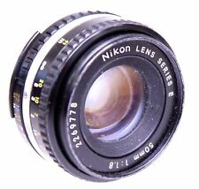 NIKON SERIES E 50mm f/1.8 AI-S Mount Standard Prime Camera Lens  - C62