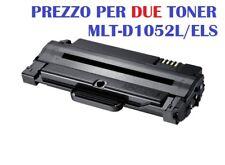 CARTUCCIA PER SAMSUNG FAX SF-650 FAX SF-650P SET 2 TONER MLT-D1052L