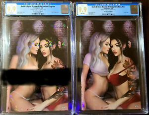 Notti & Nyce Return of the Zombie King Crystal Rock Out Set CGC 9.9 Ltd /20