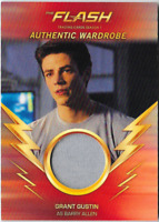Flash Season 1 Wardrobe Costume Relic Card M11 M-11 Grant Gustin Barry Allen