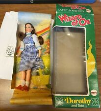 THE WIZARD OF OZ - DOROTHY and TOTO (MEGO 1974) VINTAGE