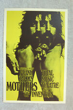 Zappa Concert tour poster 1970 Germany
