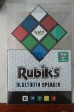 Rubik's Bluetooth Speaker - Rechargeable Battery - Lights Up - Rotates - NEW