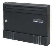 Cassette postali e copriferitoia neri per il bricolage e fai da te