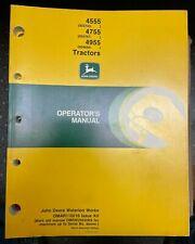 John Deere 4555 4755 4955 Tractors Operator Manual Omar110016 K0 T 6