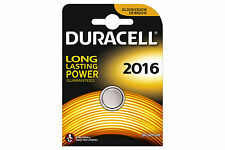Duracell 2016 3v Lithium Batteries Cr2016 Dl2016
