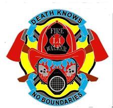 FIRE WALKER HAT OR JACKET PIN pin612 new jacket lapel metal flaming fire fighter