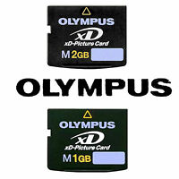Olympus XD-Picture Memory Card Type M 1GB 2GB for Digital Cameras Free Shipping