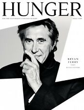 HUNGER Magazine 5,Bryan Ferry,Debbie Harry,Chiwetel Ejiofor,Rebel Wilson NEW
