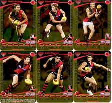 2012 AFL Teamcoach Gold Parallel Team set Essendon (12)