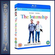 THE INTERNSHIP - Vince Vaughn & Owen Wilson  *BRAND NEW  EXTENDED CUT BLU-RAY  *