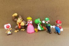 Lot 6 Super Mario Bros Mini Figures Figurine Toy Doll Set