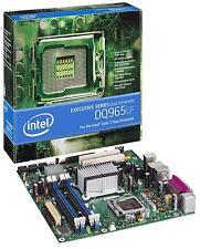 Intel dq965gf, LGA 775, Intel q965, fsb 1066, ddr2 800, VGA, superfide 1394, matx