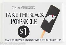 Game of Thrones Ice Cream FRIDGE MAGNET (2 x 3 inches) popsicle sign direwolf