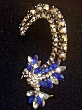 Crystal Clip Ear Cuff  Punk Wrap Cartilage Earring Jewelry hummingbird