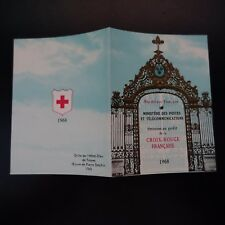 FRANCIA CARNET CRUZ ROJA RED CROSS 1968 Nº2017 NEUF LUXE MNH