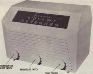 1950 RCA VICTOR 9X651 RADIO SERVICE MANUAL SCHEMATIC photofact 9x652 rc-1085 a