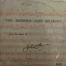 The Modern Jazz Quartet Play The Music Of John Lewis 10, Comp Esquire - 20-09...